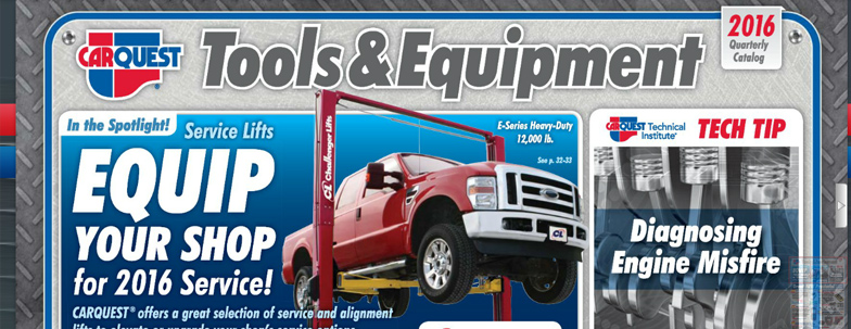 Tools & Equipment Catalog